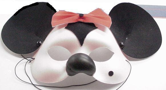 Mardi Gras Mask Mrs. Mouse with Ears !