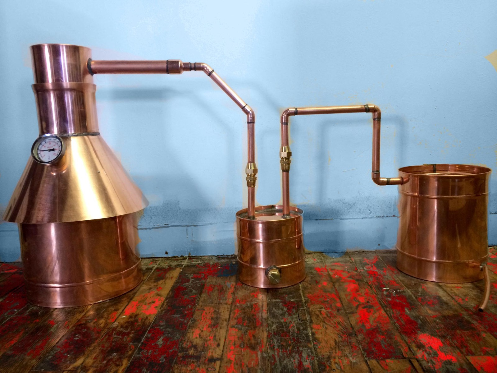 2 Gallon Moonshine Still + Upgraded Thumper and Worm ...