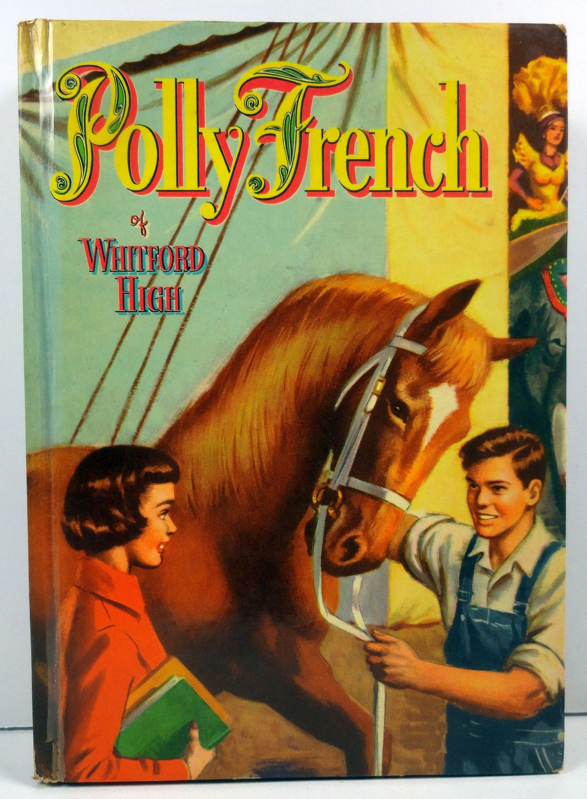 Polly French of Whitford High by Francine Lewis 1954 Whitman