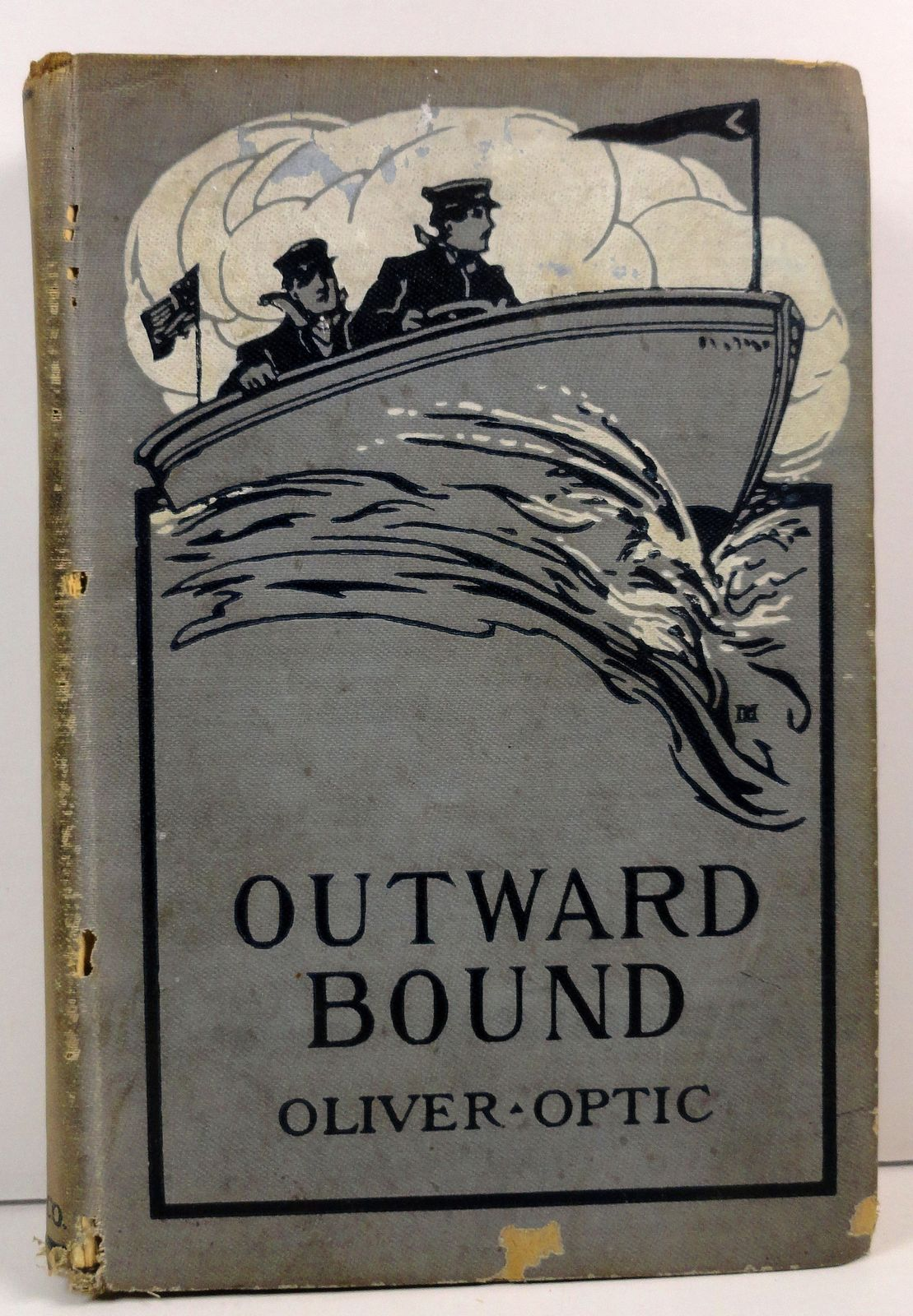 Outward Bound or Young America Afloat by Oliver Optic