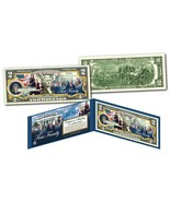 "DONALD TRUMP 45TH PRESIDENT ""THE FIRST FAMILY"" COLORIZED U.S. $2 BILL! L... - €20,43 EUR"