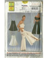 Burda Sewing Pattern 8512 Misses Womens Hip Pan... - $12.99