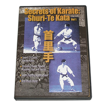 Secrets of Karate Shuri Te Kata #1 of Ryukyu Fighting Applications DVD b... - $22.00