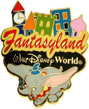 Primary image for Disney Dumbo Flying Elephent WDW Fantasyland pin/pins