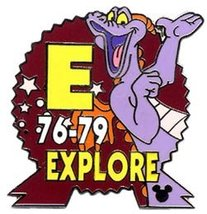 Disney Figment dragon Explore CM never sold pin/pins - $18.39