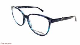 Dolce & Gabbana Women's Eyeglasses D&G 3154P 2689 Azure Blue Round Frame... - $115.43