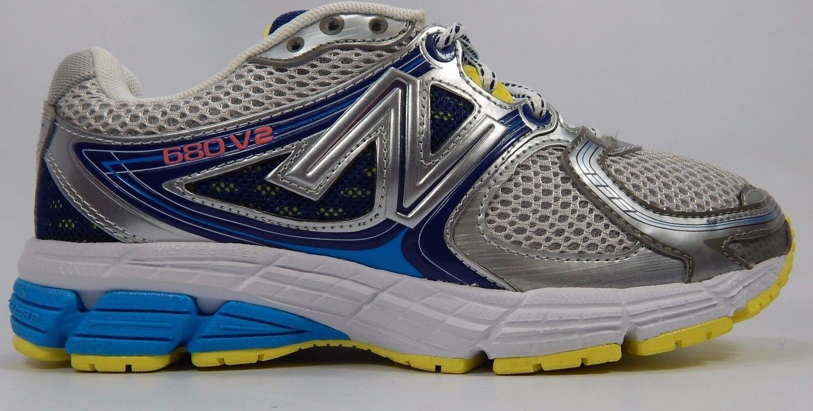 New Balance 680 v2 Women's Running Shoes Size US 7 M (B) EU 37.5 Gray W680GB2