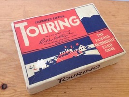 Vintage Antique 1940s Touring Parker Brothers Playing Cards Car Card Gam... - $42.49