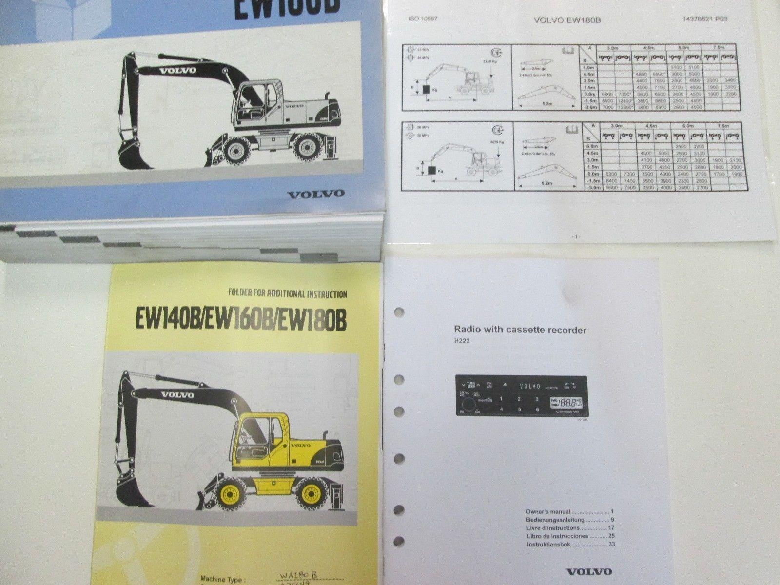 Volvo Construction Equipment EW180B Parts and 50 similar items