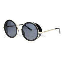Studio Cover Side Shield Sunglasses Round Circle Frame - $8.86+