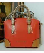 NWT Dooney & Bourke LF062 GE Claremont Domed Satchel Geranium - $279.99