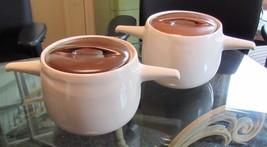 Roseville Raymor Bean Pots Two covered bean pots - $95.00