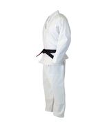 GTMA WHITE Pearl Weave Grapplng MMA Jiu Jjitsu Uniform GI #5 A3 LARGE Pa... - $99.95