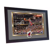 LeBron James Miami Heat signed autograph photo print NBA Basketball Framed - $19.17