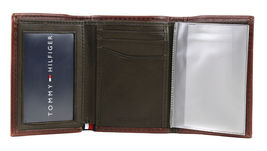 Tommy Hilfiger Men's Trifold Zipper Coin Credit Card ID Wallet 31TL110021 image 3