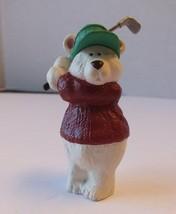 HALLMARK 1991 Keepsake Christmas Ornament Polar Classic Polar Bear Playi... - $9.69
