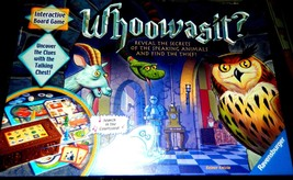 Whoowasit? Interactive Board Game-Ravensburger-Complete - $28.00