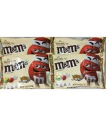 M&M White Chocolate Sugar Cookie 7.44 Oz Bag Lot Of 4 C2 - $29.65
