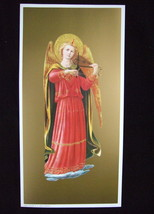 FRA ANGELICO Angel Playing Violin Music Art Print Picture ready to frame - $15.87