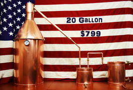 The Standard 20 Gallon Complete Moonshine Still
