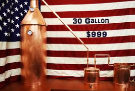 30 Gallon Copper Moonshine Still for Sale