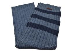 Bickley + Mitchell Mens Knit Scarf Blue Striped 51192 02 - $59.99