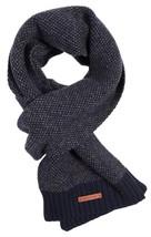 Bickley + Mitchell Men's Knit Scarf Navy 51156 02 - $59.99