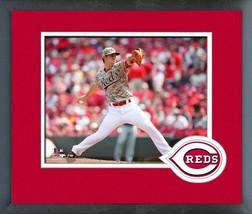 Michael Lorenzen 2016 Cincinnati Reds Action -11x14 Matted/Framed Photo - $42.95