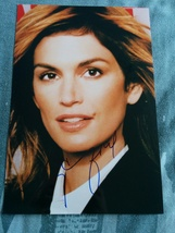 Cindy Crawford Hand-Signed Autograph With Lifetime Guarantee - $80.00