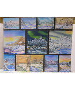 11 on 1 Winter Scenes That each have a story - $89.95