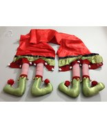 Christmas Elf Legs Table Runner 14x80 inches - $49.49