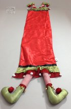 Christmas Elf Legs Table Runner 14x80 inches image 2