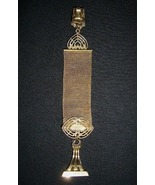 Victorian Gold Plated Mesh Watch Fob - $16.00