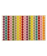 Kids Bedroom Rug Bright Colors Circles Dots Are... - $42.27