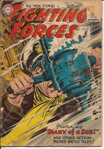 DC Our Fighting Forces #11 Diary Of a Sub Return To Beach Red Combat Inch - $11.95