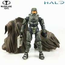 "Halo Master Chief with Cloak 5"" Action Figure Original Mcfarlane Toys Loose - $45.52"