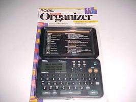 Royal Personal Organizer DM80 Plus 11 KB Black New - $24.74