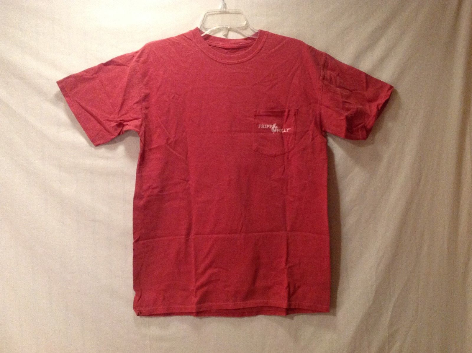 FRIPP FOLLY Light Red T-shirt Size Medium NEW!