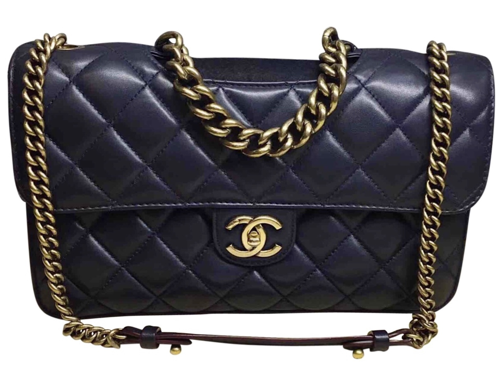 Authentic Chanel Rare Navy Blue Quilted and 41 similar items. D9e52524 aecc  4544 8fe7 212bc0bbd00c 45a8949ddf91b