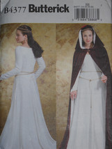 Medieval Renaissance Fair Costume Cape Size 14-20 Butterick 4377 Sewing ... - $8.90