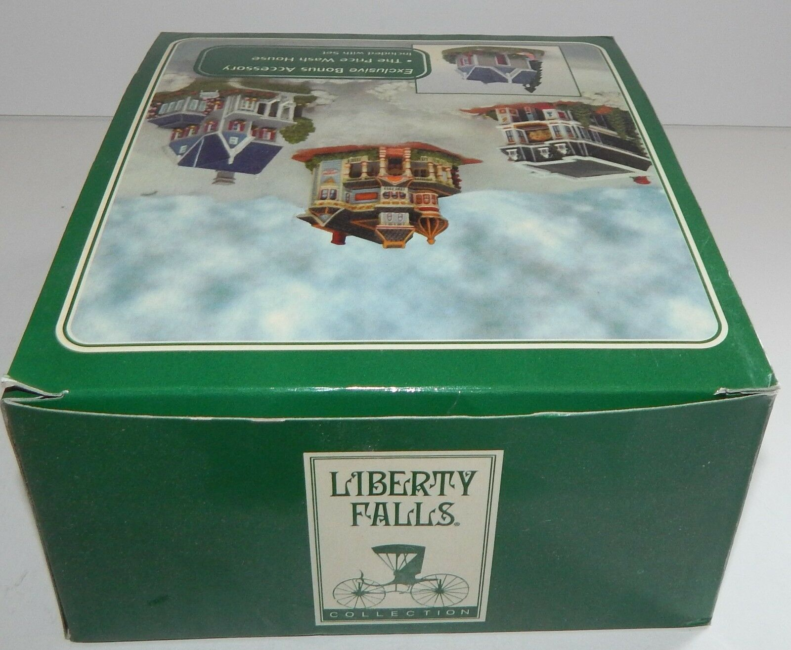 Liberty Falls Collection 4 Set Price House & Wash House Music Gambling Hall