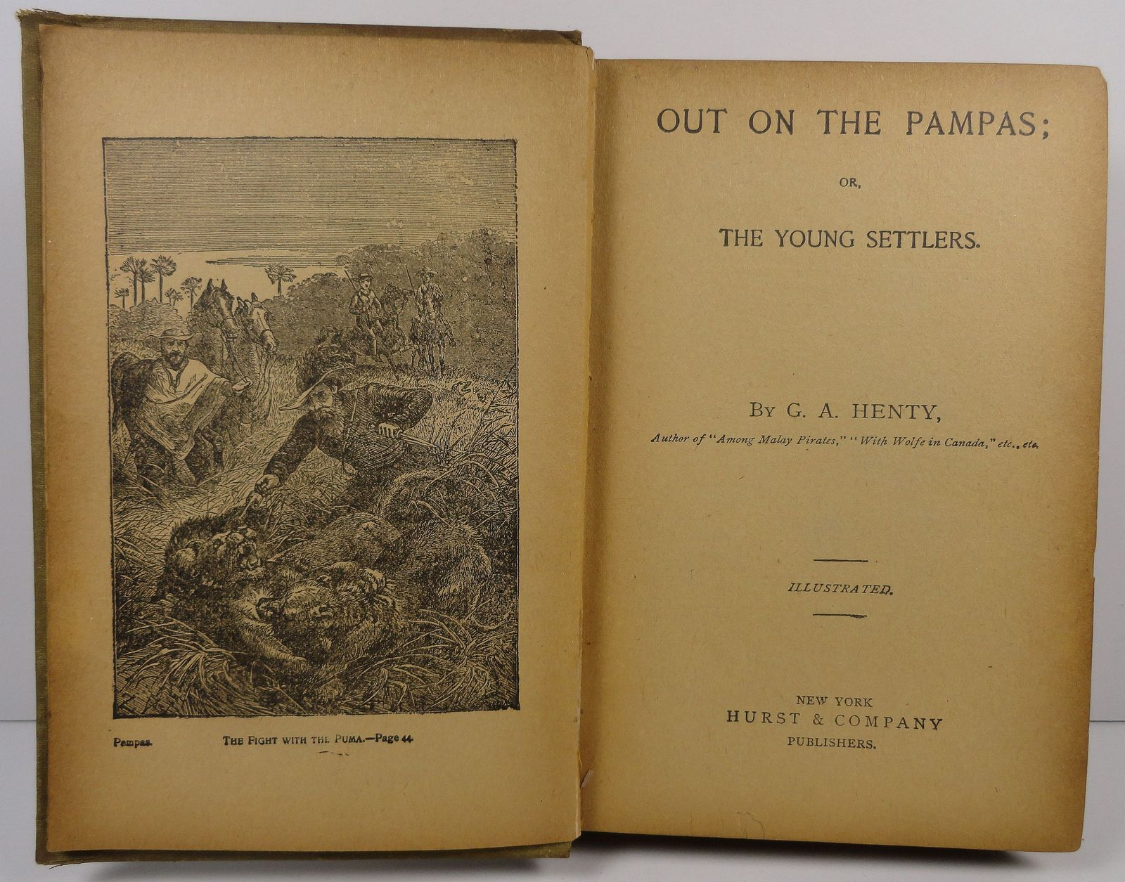 Out on the Pampas by G. A. Henty Hurst and Company