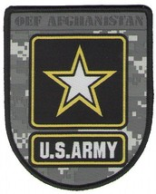 ARMY OEF  ENDURING FREEDOM AFGHANISTAN  ACU PATCH - $23.74