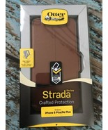 OtterBox STRADA SERIES Leather Wallet Case for iPhone 6 Plus/6S Plus -DA... - $15.79