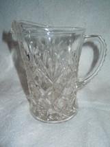 Vintage Depression Clear Glass Pineapple Design... - $6.99