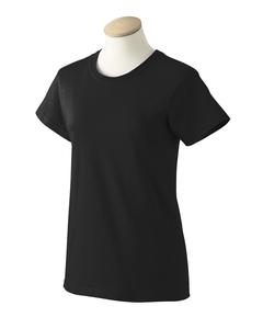 Dark Chocolate L 200LG Gildan Lady ultra cotton T-shirt