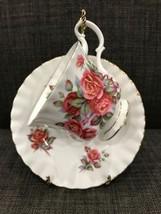 Royal Albert Centennial Rose Bone China Tea Cup and Saucer England - $25.00
