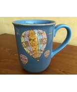 Otagiri Gold Balloons Coffee Mug Cup Blue Gold Trim Curtis Swann Design ... - $13.37