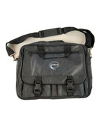 Messenger Bag Black Expandable Computer Many Pockets ProAlliance Embroid... - $14.80
