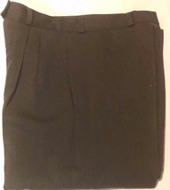 Bernard Zins by Saks Fifth Avenue Men's Dress Pants size 12 Sage Grey Wo... - $19.99